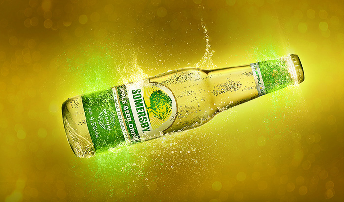 Somersby Apple Water Poster