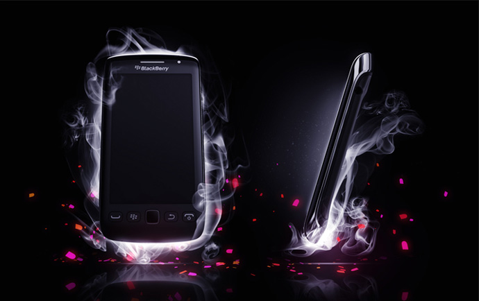 BlackBerry 3D Phone Visualization