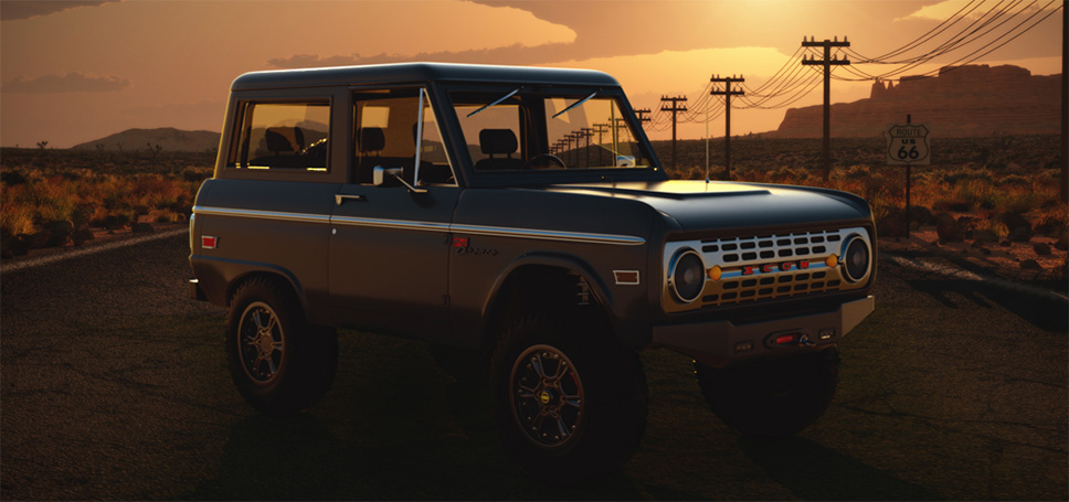 ICON4x4 Ford Bronco 3D Visualization