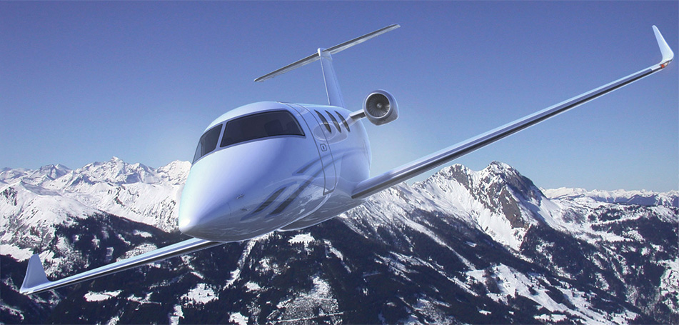 Private Jet 3D Visualization