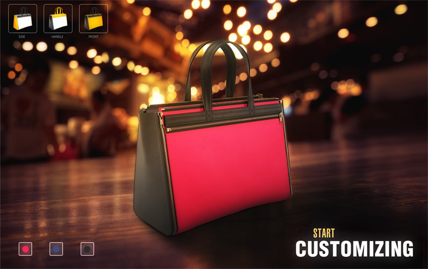 3d Bag Customization System