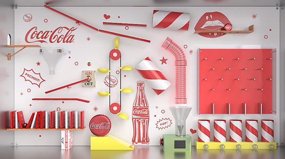 CocaCola Animation