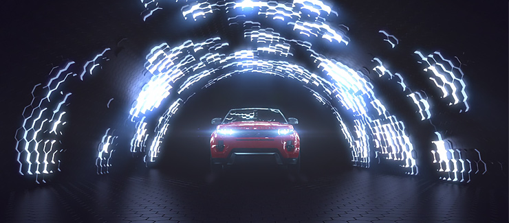 3D Car Tunnel