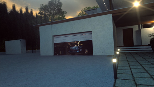 Garage VFX Making Of