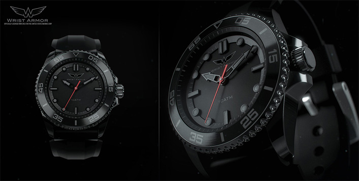 Wrist Armor 3D Watch
